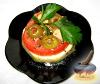 Фото к рецепту: Пикантные помидоры с чесноком