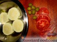 Фото приготовления рецепта: Пикантные помидоры с чесноком. - шаг №1