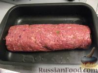 Фото приготовления рецепта: Мясной рулет - шаг №8