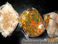 "Фото приготовления рецепта: Рисовые ""лодочки"" - шаг №2"