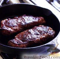 Фото приготовления рецепта: Бифштекс - шаг №2
