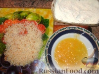 Фото приготовления рецепта: Котлета по-киевски - шаг №7