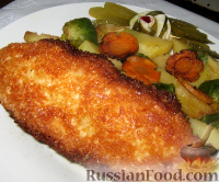 Фото приготовления рецепта: Котлета по-киевски - шаг №9