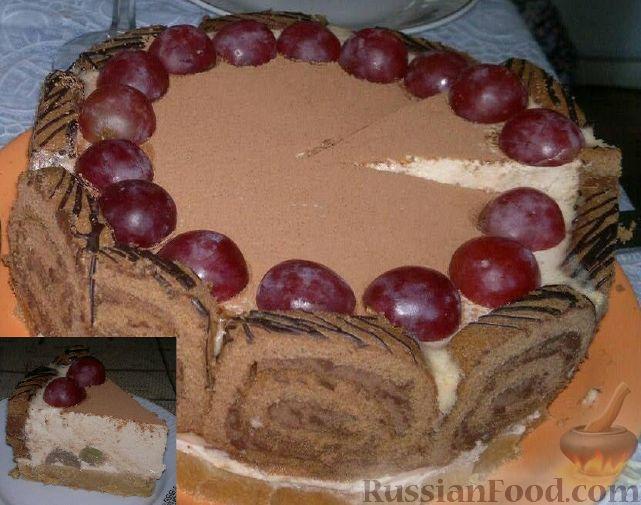 Узнай рецепт домашней шоколадной глазури для торта из ...
