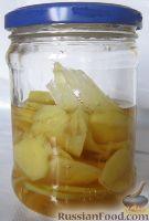 Фото приготовления рецепта: Маринованный имбирь - шаг №9