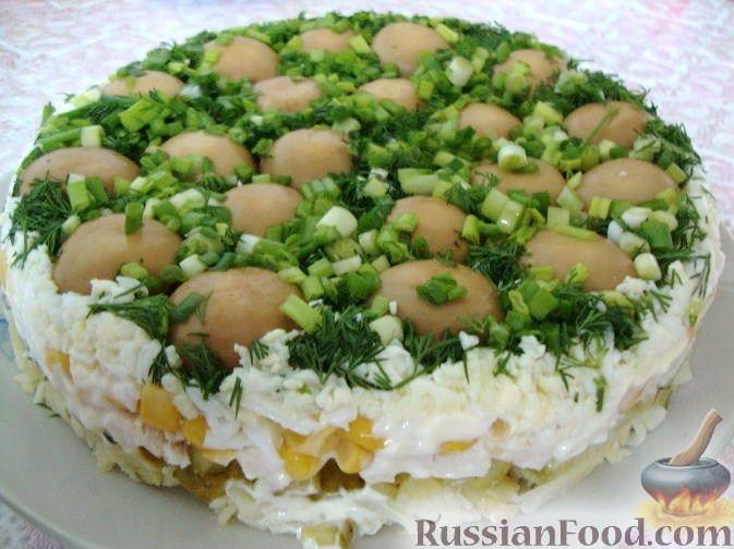 Рецепты блюд с грибами