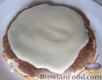 Фото приготовления рецепта: Торт «Сметанник» - шаг №19