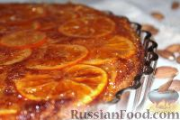 Фото к рецепту: Татэн с мандаринами