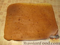 """Фото приготовления рецепта: Торт """"Машинка Маккуин"""" (Тачки) (пошагово) - шаг №6"""