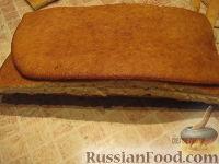 """Фото приготовления рецепта: Торт """"Машинка Маккуин"""" (Тачки) (пошагово) - шаг №9"""