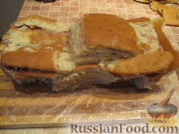 """Фото приготовления рецепта: Торт """"Машинка Маккуин"""" (Тачки) (пошагово) - шаг №20"""