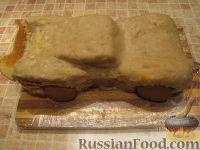 """Фото приготовления рецепта: Торт """"Машинка Маккуин"""" (Тачки) (пошагово) - шаг №23"""