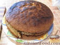 """Фото приготовления рецепта: МК Торт """"Домик Смурфиков"""" (пошагово) - шаг №1"""
