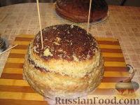 """Фото приготовления рецепта: МК Торт """"Домик Смурфиков"""" (пошагово) - шаг №7"""