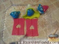 """Фото приготовления рецепта: МК Торт """"Домик Смурфиков"""" (пошагово) - шаг №11"""