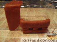 """Фото приготовления рецепта: МК Торт """"Домик Смурфиков"""" (пошагово) - шаг №14"""
