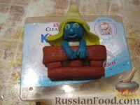 """Фото приготовления рецепта: МК Торт """"Домик Смурфиков"""" (пошагово) - шаг №20"""