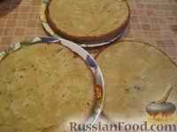 Фото приготовления рецепта: МК Торт творожный с Китти (разукрашка пошагово) - шаг №4