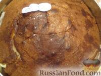 Фото приготовления рецепта: МК Торт творожный с Китти (разукрашка пошагово) - шаг №8