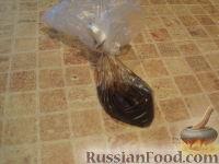 Фото приготовления рецепта: МК Торт творожный с Китти (разукрашка пошагово) - шаг №10