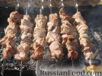 Фото приготовления рецепта: Шашлык в кефире - шаг №6