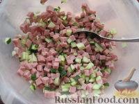 Фото приготовления рецепта: Окрошка - шаг №3