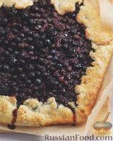 Фото к рецепту: Открытый ягодный пирог