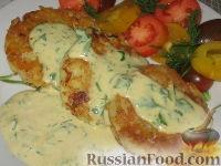 Фото к рецепту: Картофельно-рыбные оладьи