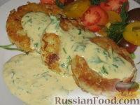 Фото приготовления рецепта: Картофельно-рыбные оладьи - шаг №3