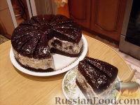 Фото к рецепту: Торт Африканская ромашка