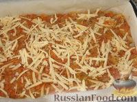 Фото приготовления рецепта: Баклажанная запеканка с капустой и перцем - шаг №4