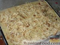 Фото приготовления рецепта: Баклажанная запеканка с капустой и перцем - шаг №5