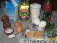 Фото приготовления рецепта: Томатные блинчики с тунцом - шаг №1