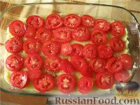 Фото приготовления рецепта: Картофельная запеканка с грибами постная - шаг №6
