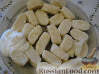Фото к рецепту: Ленивые вареники из творога