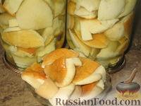Фото к рецепту: Маринованные белые грибы