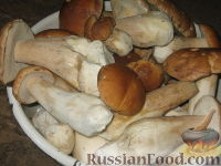 Фото приготовления рецепта: Маринованные белые грибы - шаг №2