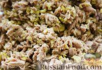Фото приготовления рецепта: Фаршированные острые перчики - шаг №3