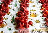 Фото приготовления рецепта: Фаршированные острые перчики - шаг №5
