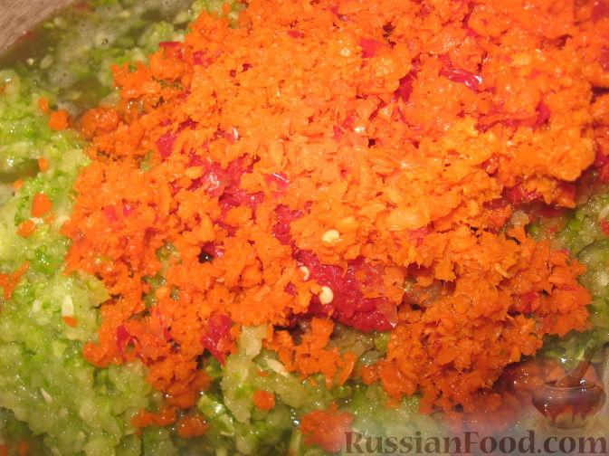 Заготовки из кабачков и моркови