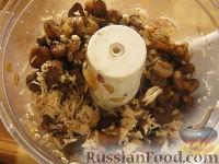 Фото приготовления рецепта: Начинка для пирожков из курицы и грибов - шаг №5