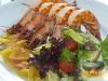 Фото к рецепту: Креветки гриль
