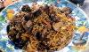 Фото к рецепту: Перловая каша с грибами и овощами