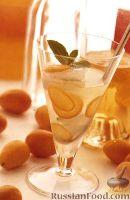 Фото к рецепту: Коктейль Лимонад с Водкой и Кумкватом.
