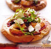 Фото к рецепту: Пиццетты с креветками