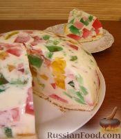 "Фото к рецепту: Торт ""Битое стекло"""