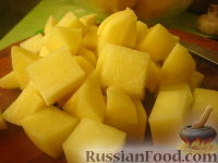 Фото приготовления рецепта: Картофель с овощами в рукаве - шаг №2