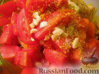 Фото приготовления рецепта: Картофель с овощами в рукаве - шаг №7