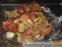 Фото приготовления рецепта: Шашлык в рукаве - шаг №7