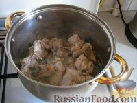 Фото приготовления рецепта: Чахохбили по-грузински - шаг №5